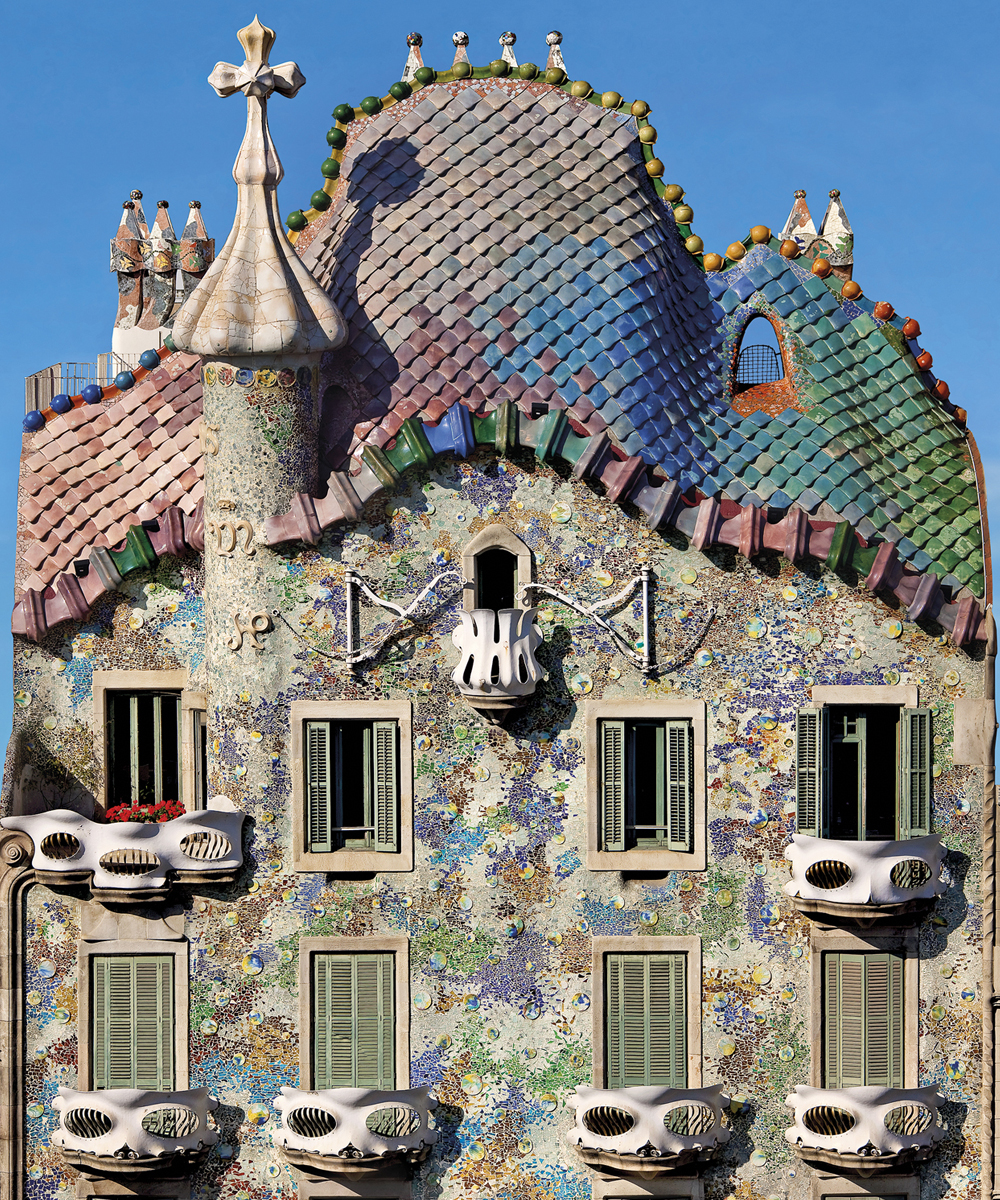 A Madman or a Genius Casa Batll  One World One Backpack
