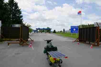 EU-Ausssengrenze nach Serbien