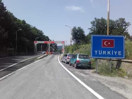 Total entspannter und freundlicher Grenzübertritt