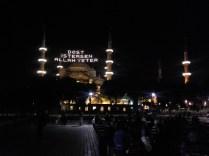 Blaue Moschee: »Wünschst Du Dir einen Freund, so genügt Dir Allah.«
