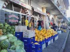 Obst und Gemüse ist überall super frisch
