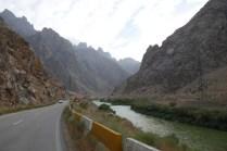 Durchs Flusstal Richtung Jolfa