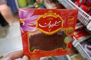 5 Gramm Safran auf dem Bazaar für 11 Euro...