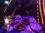Abendessen bei Atika.