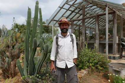 Im Botanischen Garten von Auroville, nicht in Mexiko.