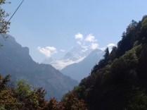 Klasse Blick auf den 8.163 m hohen Manaslu.