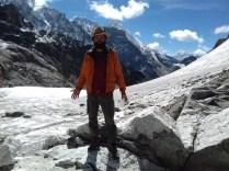 Zweite Passüberquerung der Tour: Cho La auf 5.420 m bei Kaiserwetter.