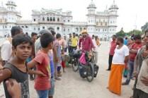 Heiliger Hindu-Tempel in Janakpur.
