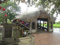 Thanh Toan Brücke aus dem 18. Jahrhundert vor den Toren von Hue.