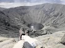 Kraterumrundung Bromo (ca. 3 km)