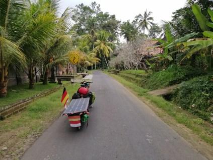 Ankunft auf Bali. Die Insel macht Laune.