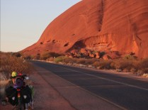 Sonnenaufgang Uluru