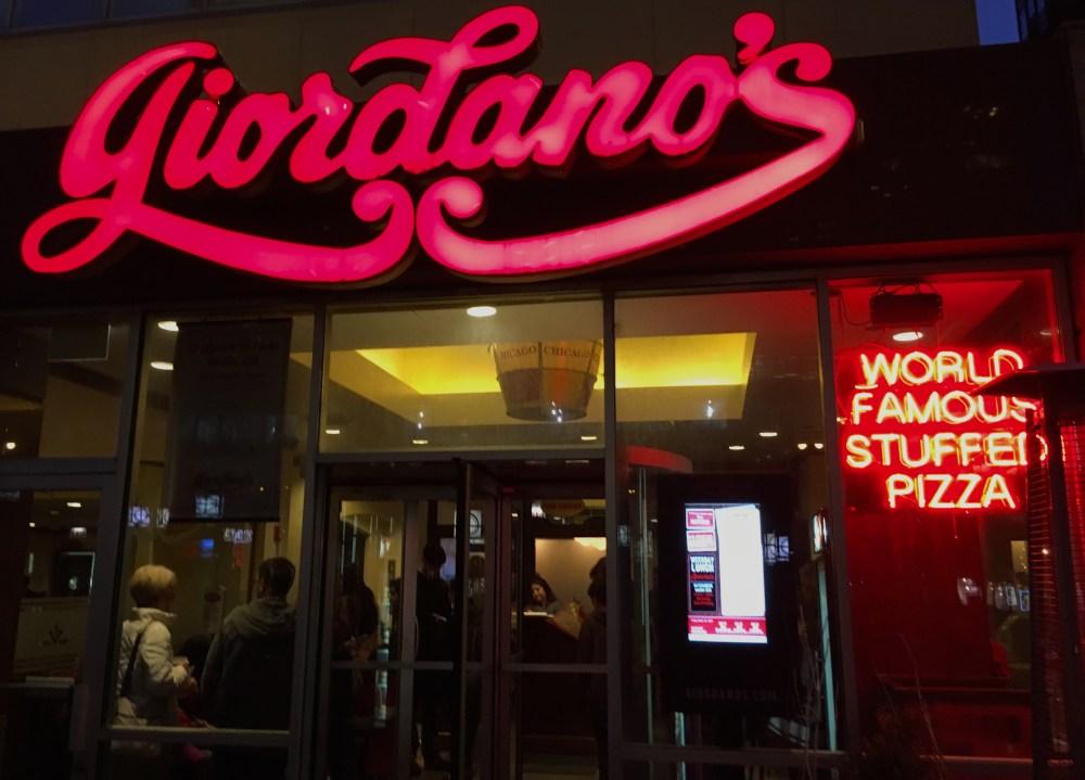 Giordano's Pizza Chicago
