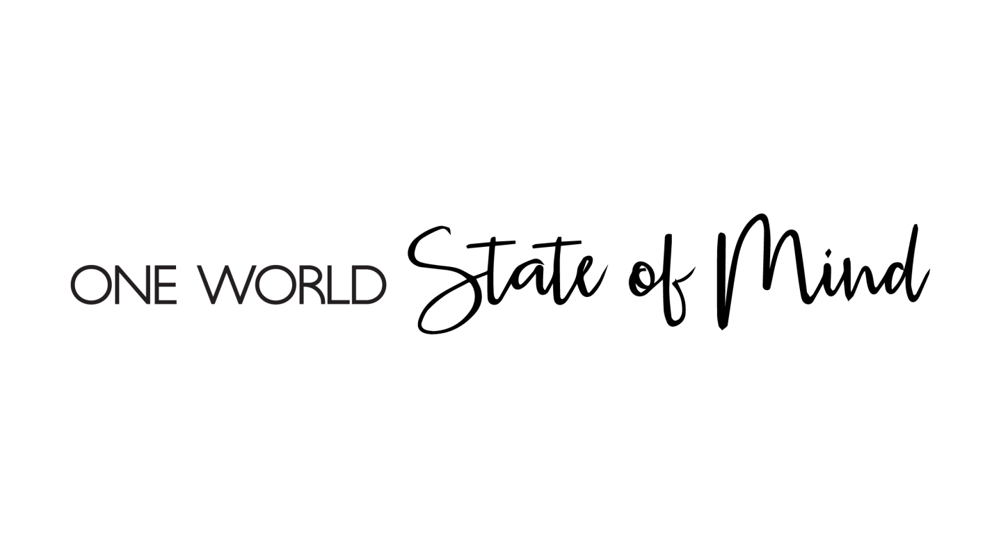 One World State of Mind_Title Black