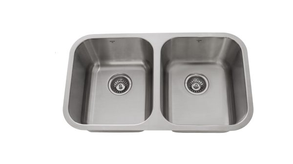 OU3118 9, Double Bowl, Undermount, Stainless Steel, Onex Enterprises, Kitchen Sink in Canada