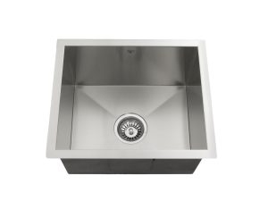 OUS1816 SQ, Single Bowl, Undermount Collection, Onex Enterprises, Kitchen Sinks in Canada