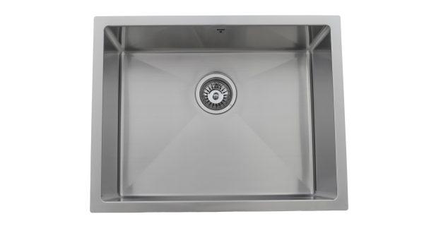 OUS2318 SQR R10, Single Bowl, Undermount, Stainless Steel, Designer Collection, Onex Enterprises, Kitchen Sinks in Canada