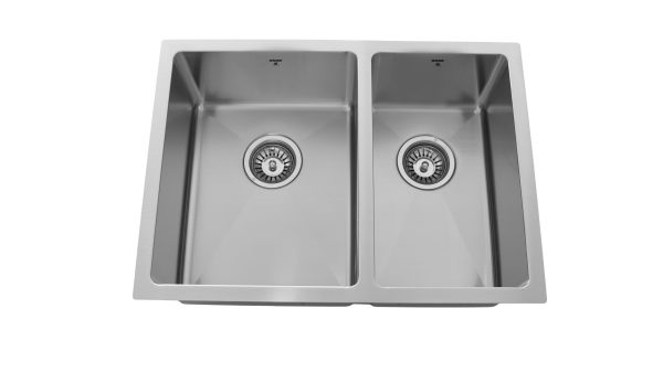 OU2518 SQR U, Uneven Double Bowl, Stainless Steel, Kitchen Sink in Canada