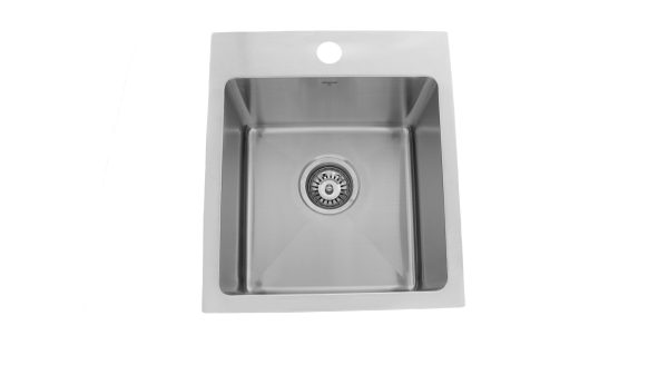 OD1515 SQR, Onex Enterprises Canada, Stainless Steel, Drop-In, Designer Collection, Kitchen Sink