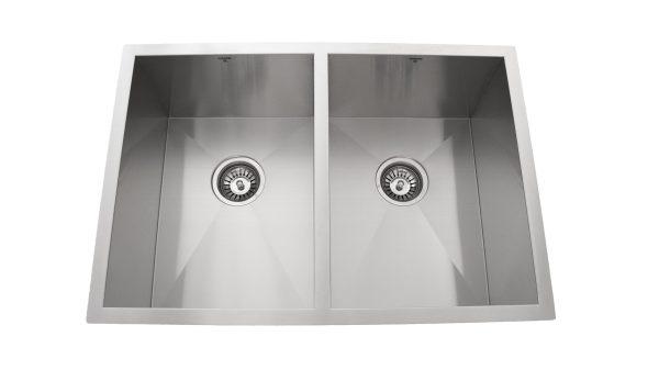 Undermount, Double Bowl, Onex Enterprises, Stainless Steel, Kitchen Sinks in Canada