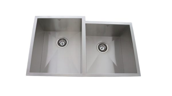 OU3220 SQ, Uneven, Double Bowl, Stainless Steel, Kitchen Sink Onex Enterprises in Canada