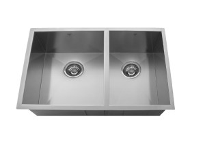 OU3219 SQ U, ONEX ENTERPRISES, ONEX CANADA, Kitchen Sink, Stainless Steel, Undermount, Uneven Double Bowl