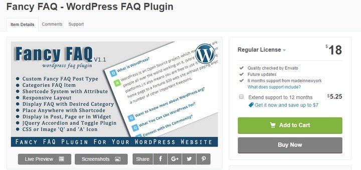 fancy-faq-1 Top 10 WordPress FAQ Plugins For Improving Customer Support