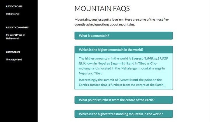 faq-concertina Top 10 WordPress FAQ Plugins For Improving Customer Support