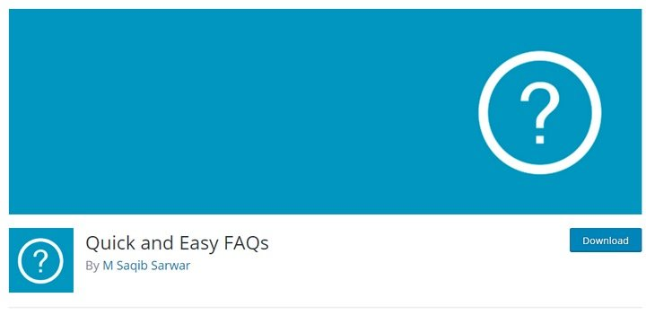 quick-easy-faq-1 Top 10 WordPress FAQ Plugins For Improving Customer Support