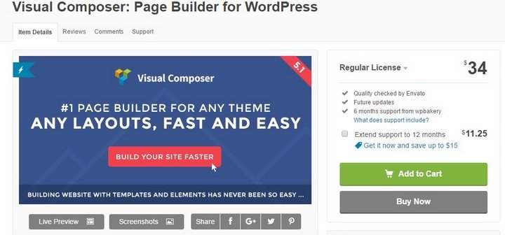visual-composer Top 10 WordPress FAQ Plugins For Improving Customer Support