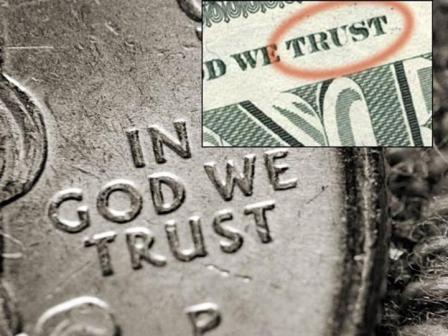 In God we TRUST... not God's folk