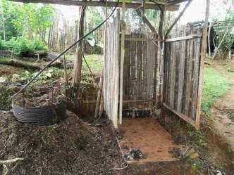 Compost shower