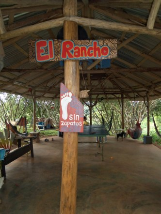 """El Rancho"" the place to hang out. Hammocks, ping pong, paints, music, books..."