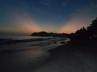 Playa Sámara sunset