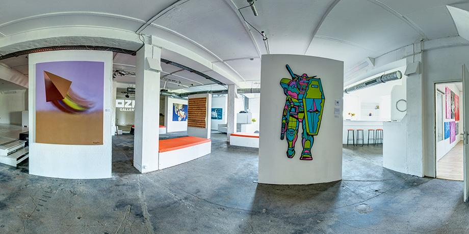 OZM Art Space Gallery UpTheWall