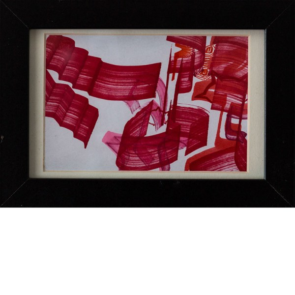 Loomit | Kalligraphie Rot