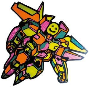 Lady Wave & Oz   Gundam Smiley