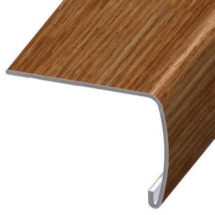 laminate flooring sunken living room sofa bed set versaedge stair nose 94-inch tarkett scotch northern red ...