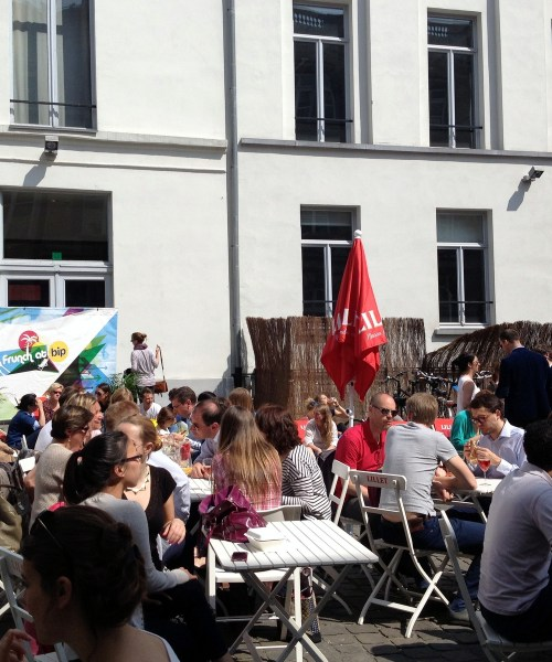 #Frunch is back in #Brussels by @onfoodandwine