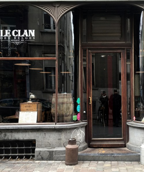 review of #Brussels restaurant Le Clan des Belges by @onfoodandwine