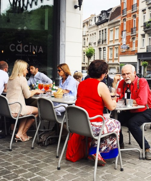 perfect Italian lunch @cocina_brussels - review by @onfoodandwine