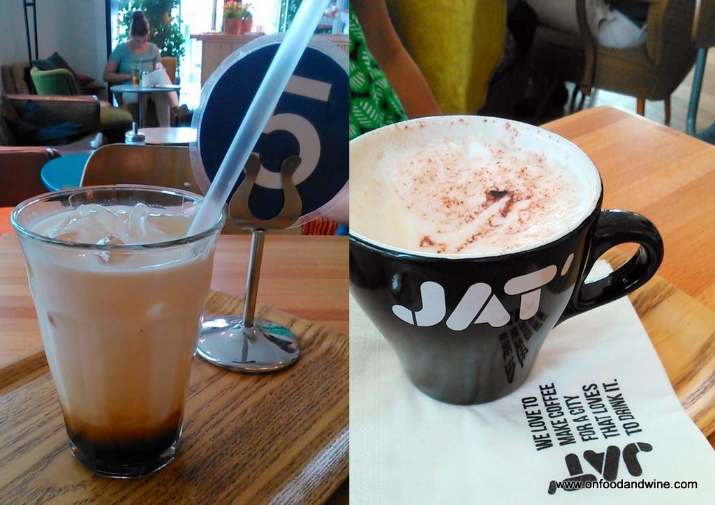 JAT Cafe - Brussels brunch review by @onfoodandwine