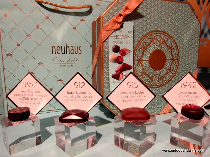 #Neuhaus History Collection - giveaway by @onfoodandwine