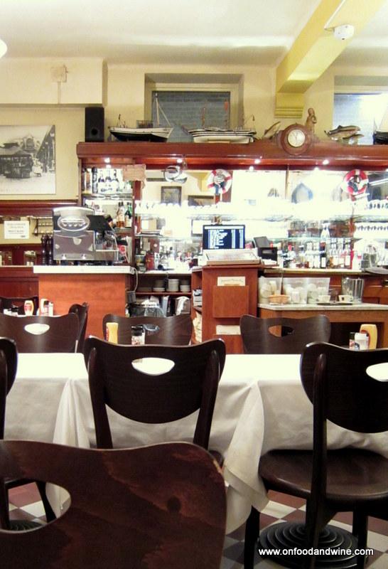 dinner at Bij den Boer restaurant in #Brussels - review by @onfoodandwine