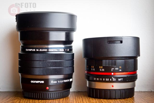 Olympus ED 8mm f/1.8 Pro Fisheye M.Zuiko vs Samyang 7.5mm f/3.5 UMC Fish-eye Micro 4/3