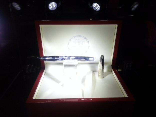 Sheaffer Legacy Heritage Centennial Limited Edition - Sterling Silver with Palladium Plate Trim