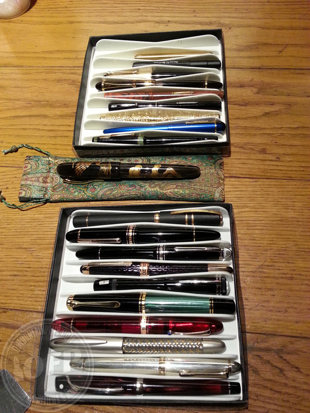 Expensive pens