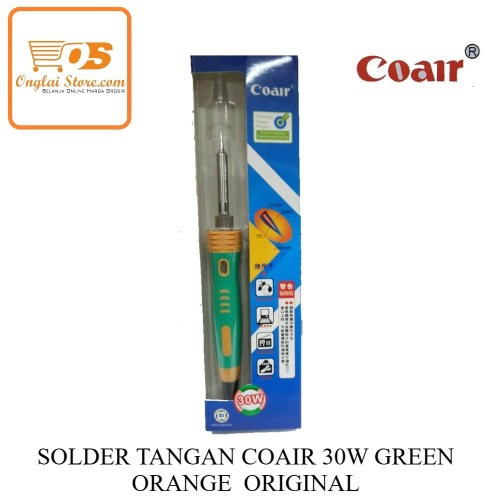 SOLDER TANGAN COAIR 30W GREEN ORANGE ORIGINAL-70881
