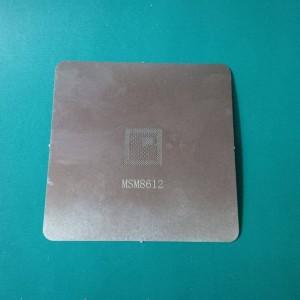 CETAKAN IC BGA QUALCOMM MSM8612 304 STEEL 0.15