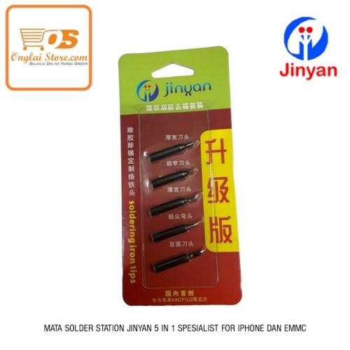 MATA SOLDER STATION JINYAN 5 IN 1 SPESIALIST FOR IPHONE DAN EMMC